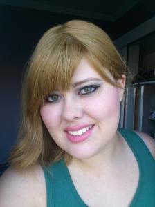 Mais testes de maquiagem