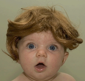 """""""Quem eu? Usando peruca?!"""""""